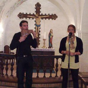 Panfløjte solist Alex Syrik koncert Alex og anla syrik